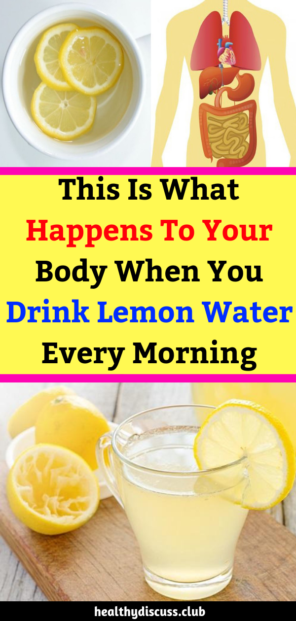 Can you drink lemon water in the morning