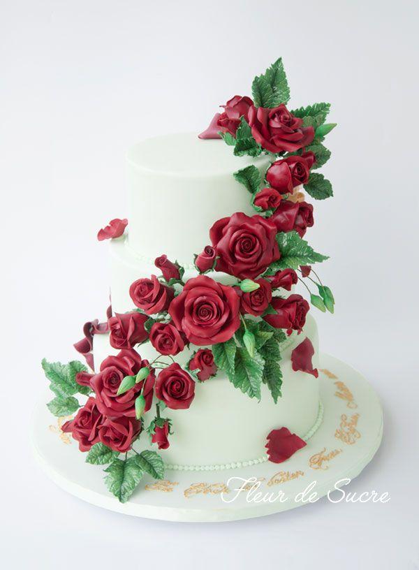 Baccara Rosen Hochzeitstorte Made By Www Fleurdesucre Ch Zurich
