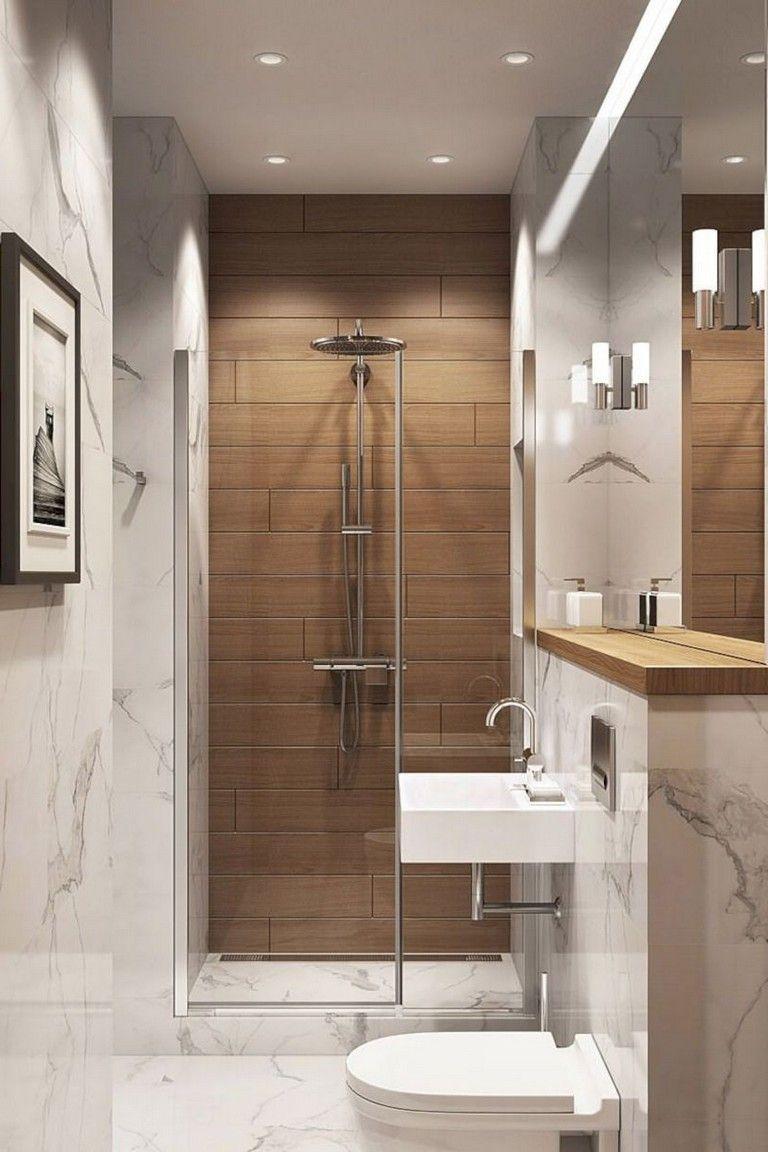 40 Elegant Small Bathroom Decor Ideas On A Budget Bathroom Bathroomdecor Bathroomdecorideas Bathroom Design Small Small Bathroom Makeover Small Bathroom