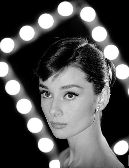 Audrey Hepburn photographed by Leonard McCombe, May 1958.