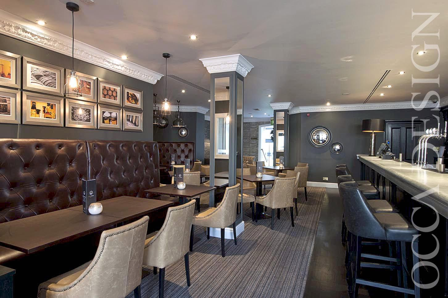 Hotel interior design bar interior design zinc bar for Interior leather bar