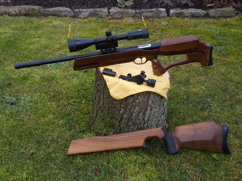 Feinwerkbau FWB300 : Bullpup Stock   Air rifles   Air rifle