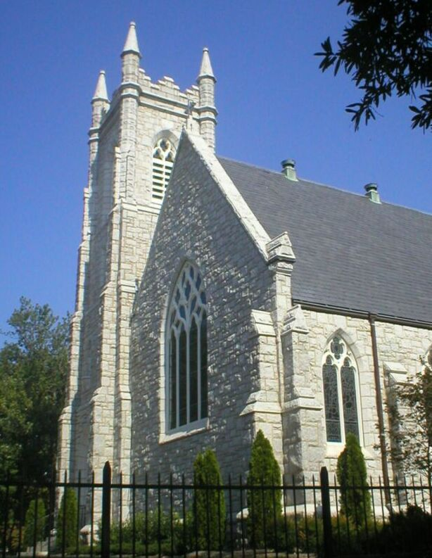 St Athanasius Episcopal Church And Parish House And The Church Of