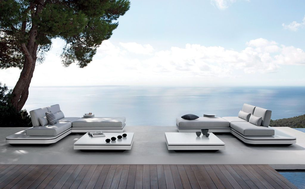 étonnant salon de jardin de luxe   Décoration française