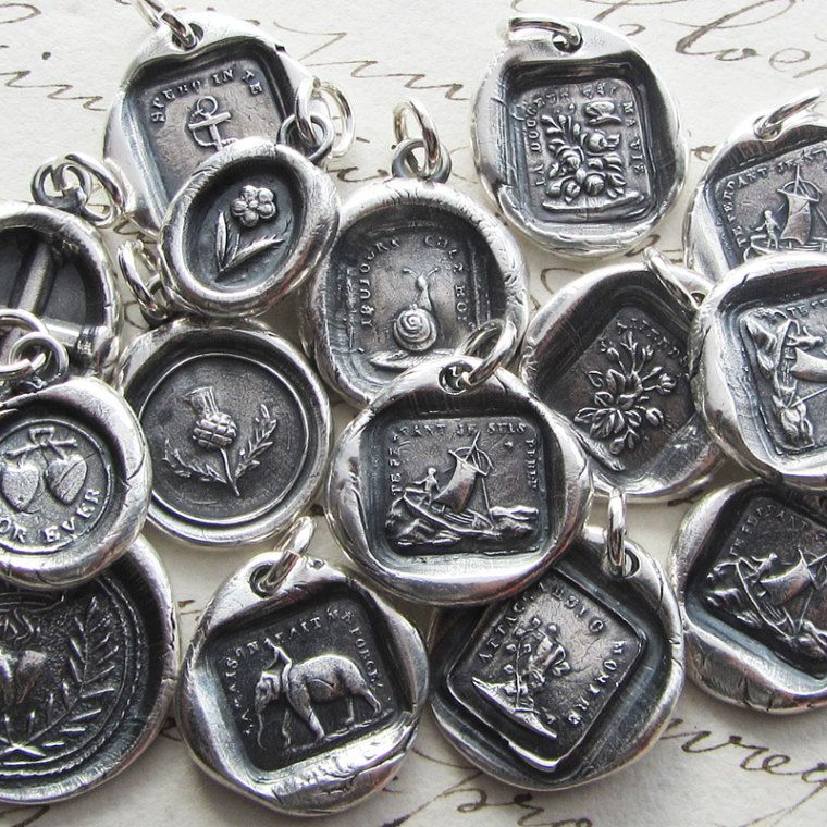 Etsy about shannonwestmeyer wax seal jewelry wax seal