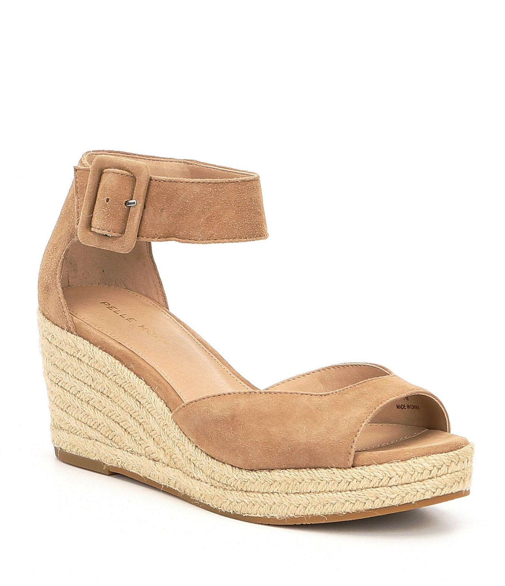 897188311 Shop for Pelle Moda Kauai Espadrille Suede Ankle Strap Wedge Sandals at  Dillards.com. Visit Dillards.com to find clothing, accessories, shoes, ...