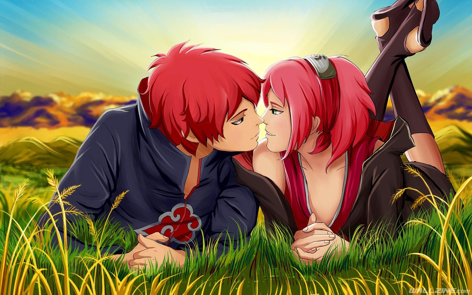 naruto kiss sakura sasori wallpaper   hd desktop wallpapers