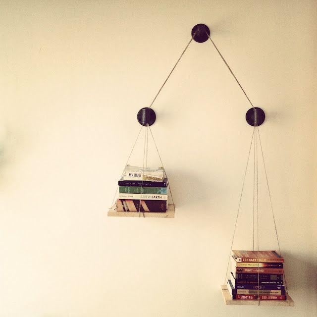 CUSH DESIGN STUDIO: [Furniture] Balance Scale Bookshelf