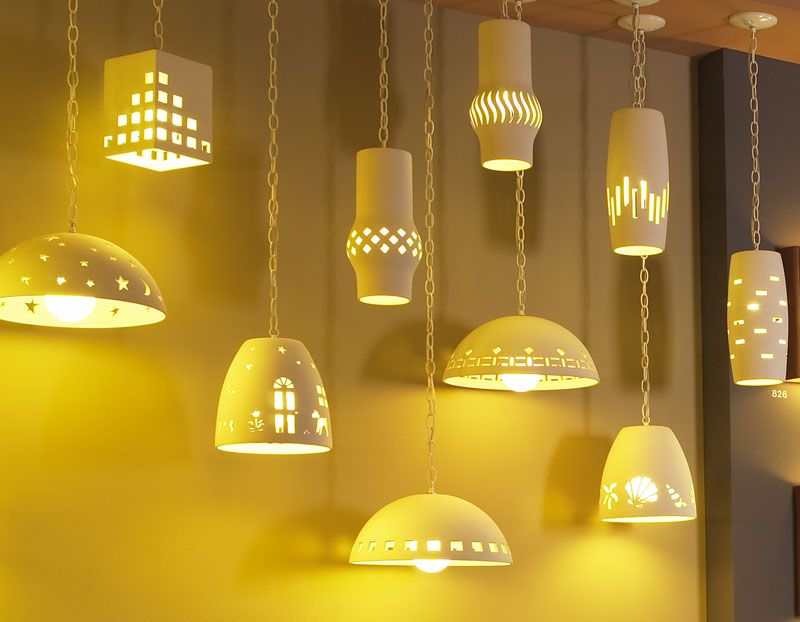 Ceramic Pendant Lights By Fabby Lighting