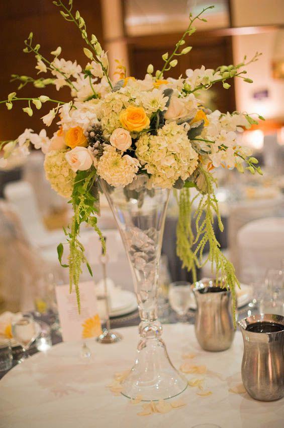 Stunning Spring Centerpiece Spring Wedding Ideas Pinterest