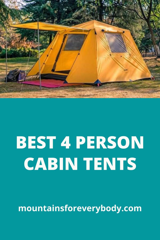 Qomotop Tent : qomotop, Person, Cabin, Tents, Ideas, Tent,, Camping