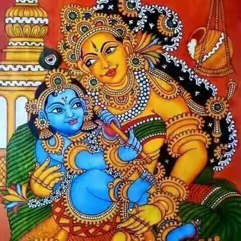 Pin by viji chidam on mural painting pinterest kerala for Mural ganapathi