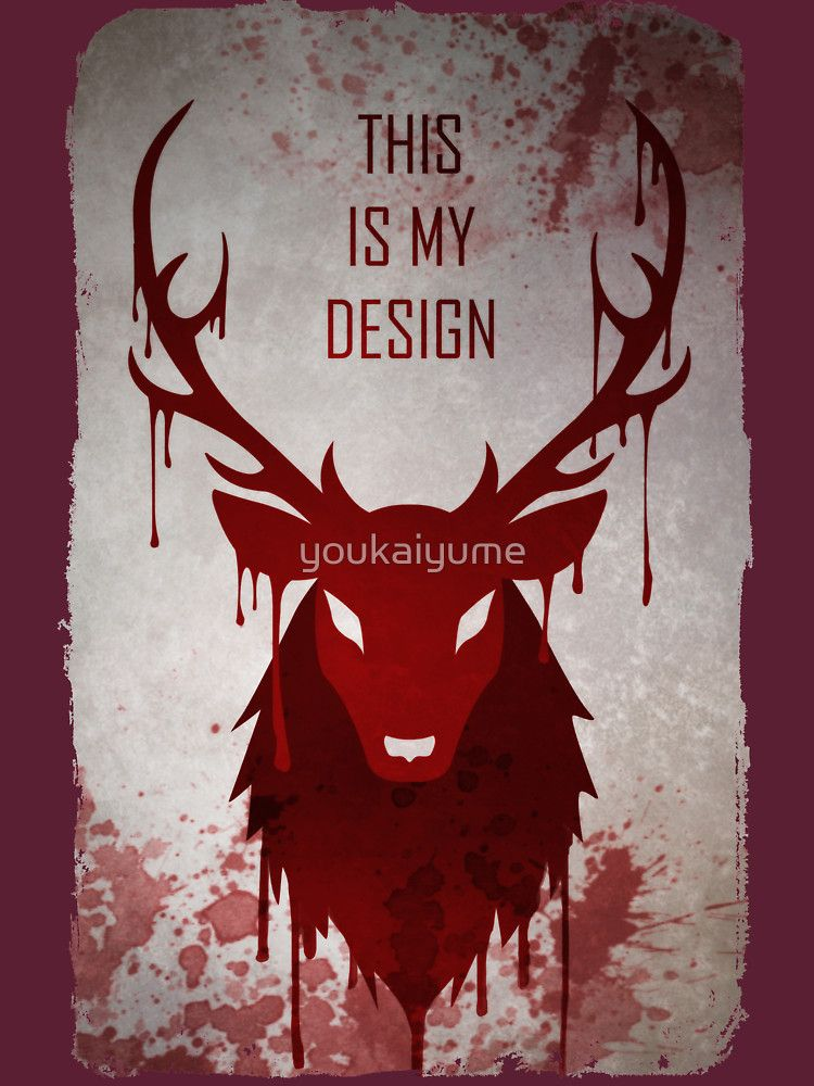 Hannibal This Is My Design Essential T Shirt By Youkaiyume Hannibal Hannibal Wallpaper Hannibal Series