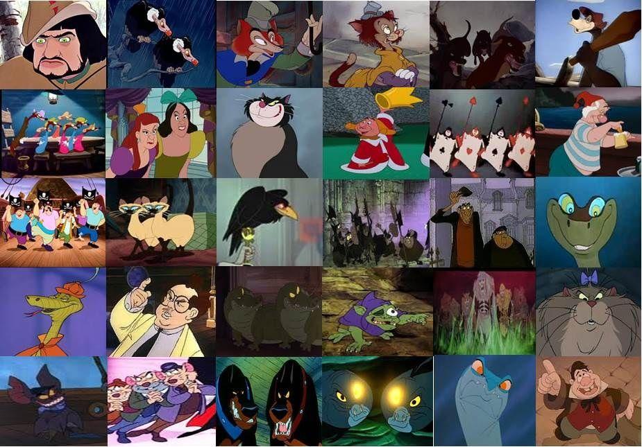 Disney evil sidekicks minor villains and henchmen by for Disney fish names