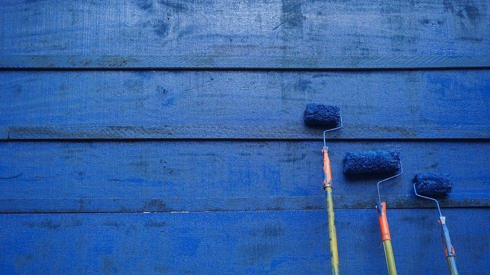 Voici une recette pour fabriquer soi-même sa peinture de façon - peinture bois et fer