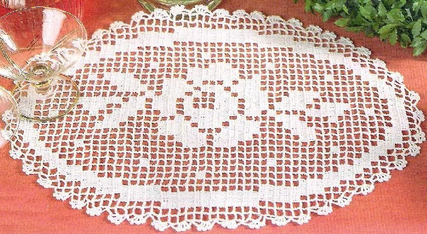 plateau de dentelle couvre facebook   – Antik tasarım dekor