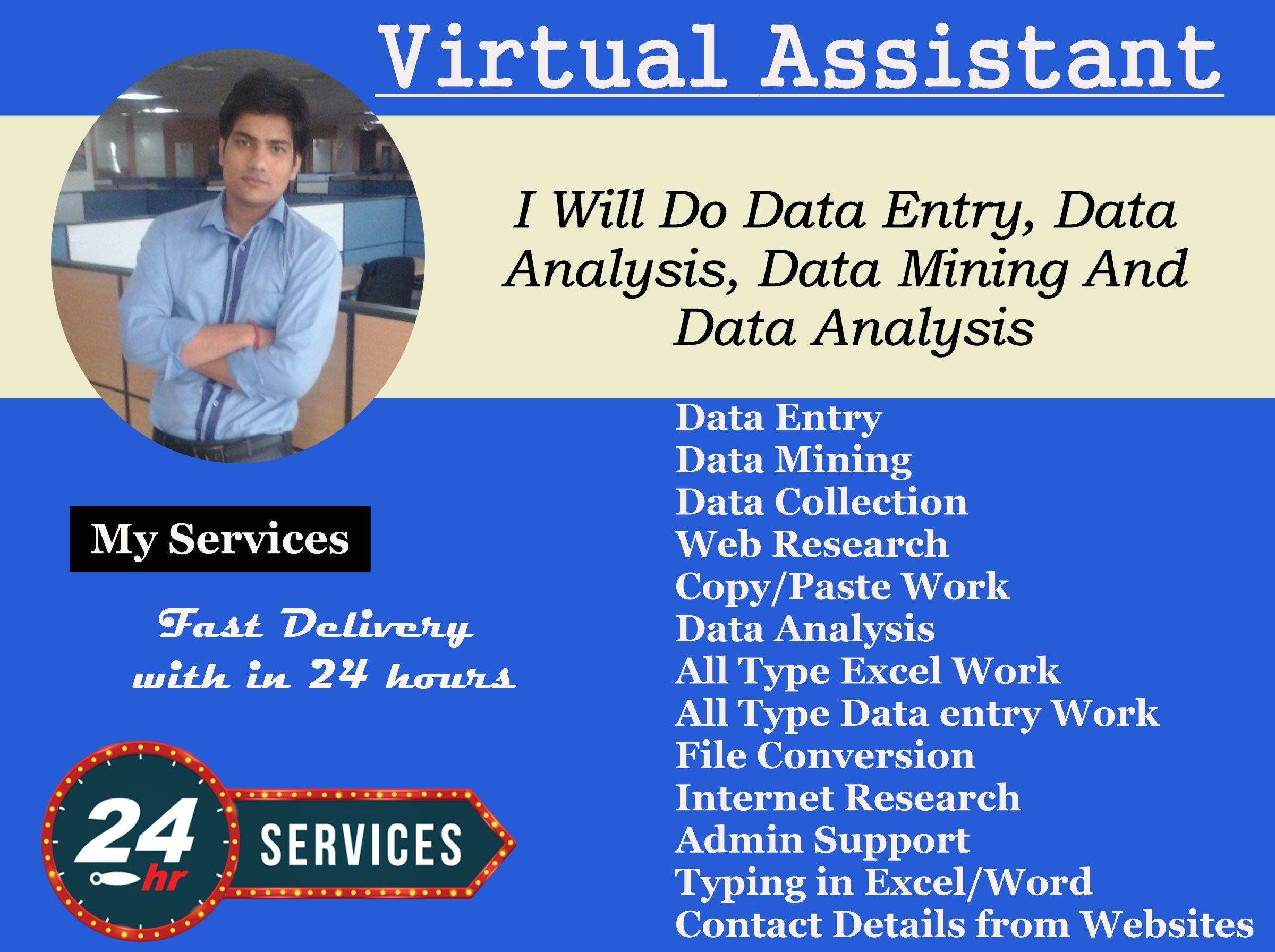Your Virtual Assistant For Data Entry Data Mining Web Research