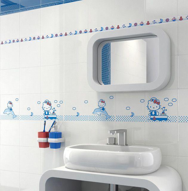 Hello Kitty Bathroom Tiles Amazing Decoration