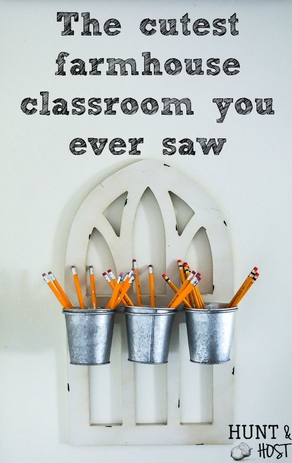 The Cutest Farmhouse Classroom You Ever Saw images