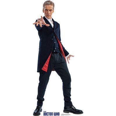 Advanced Graphics Dr. Who Peter Capaldi - 12th Doctor Cardboard Standup #12doctor