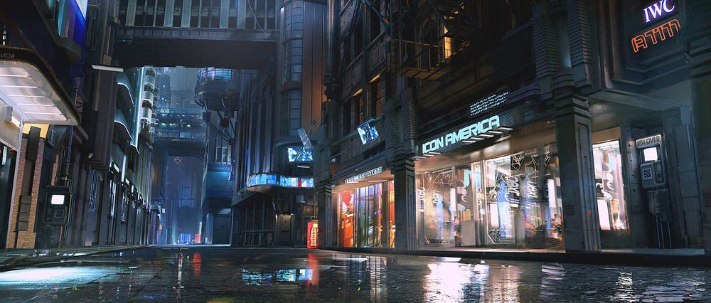 Official Cyberpunk 2077 Concept Art