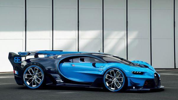 Bugatti Vision Gran Turismo Pc Wallpapers Hdqwalls Com Bugatti Bugatti Veyron Super Luxury Cars