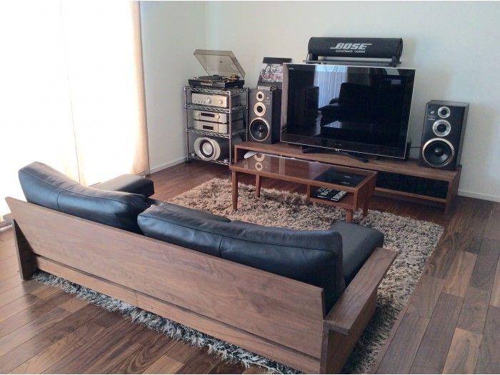ホームシアターのイメージ インテリア 家具 ソファ リラックス