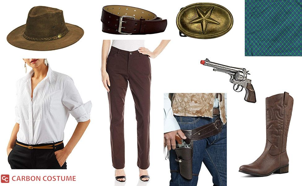Sadie Adler From Red Dead Redemption 2 Costume Red Dead