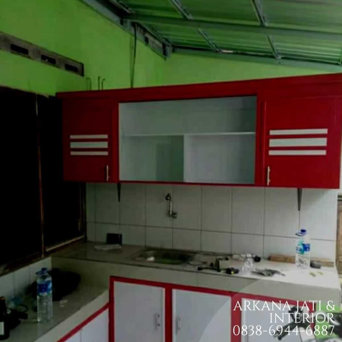 Jasa Pembuatan Dengan Penawaran Harga Kitchen Set Sederhana Terbaik Kabinet Dapur Desain Furnitur Modern Interior