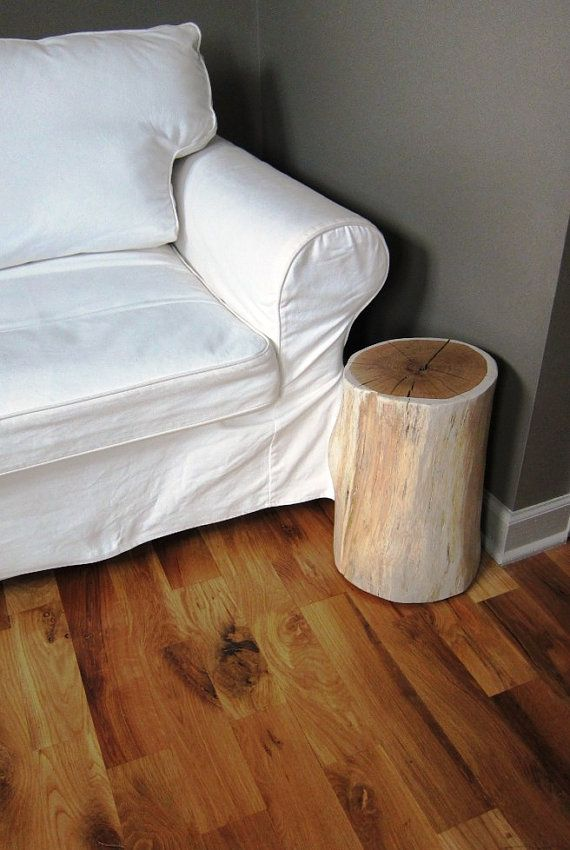 I so want one of these stump side tables one day