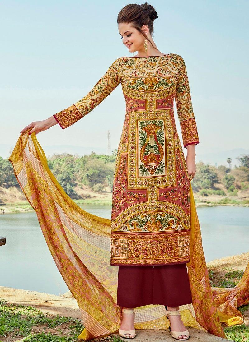buy latest designer party wear salwar suit online. Order this ...