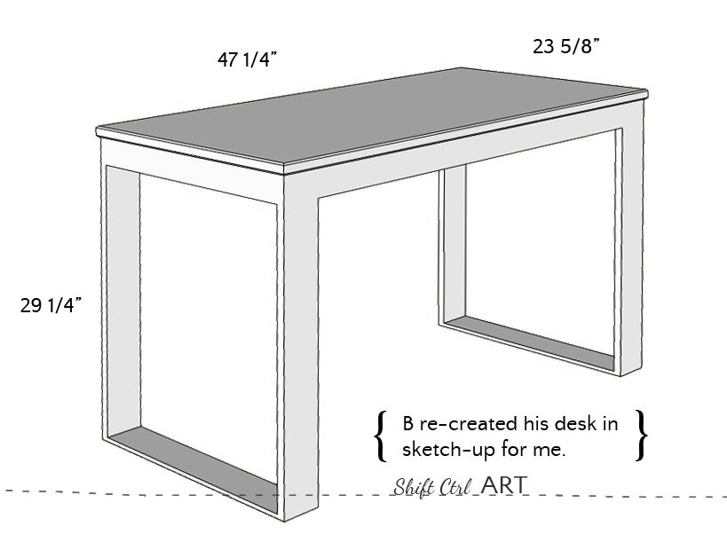 IKEA hack: how to build a white desk with a miter saw and a kreg jig