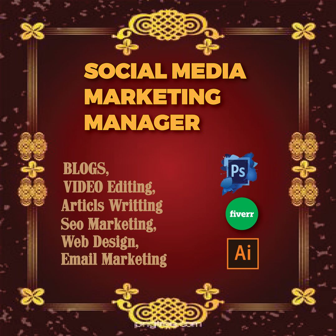 Are you looking for social media marketing manager for growing your business? We are here in Bangladesh to help you.We have got a lot of rating and success from our client on fiverr.com for working as a social media marketing manager. #digitalmarketing #marketing #socialmediamarketing #socialmedia #seo #business #branding #onlinemarketing #marketingdigital #contentmarketing #entrepreneur #webdesign #advertising #digital #smallbusiness #google #smm #bhfyp #social #m meMV #twitterLGBTQ #GOT7 #GOT7
