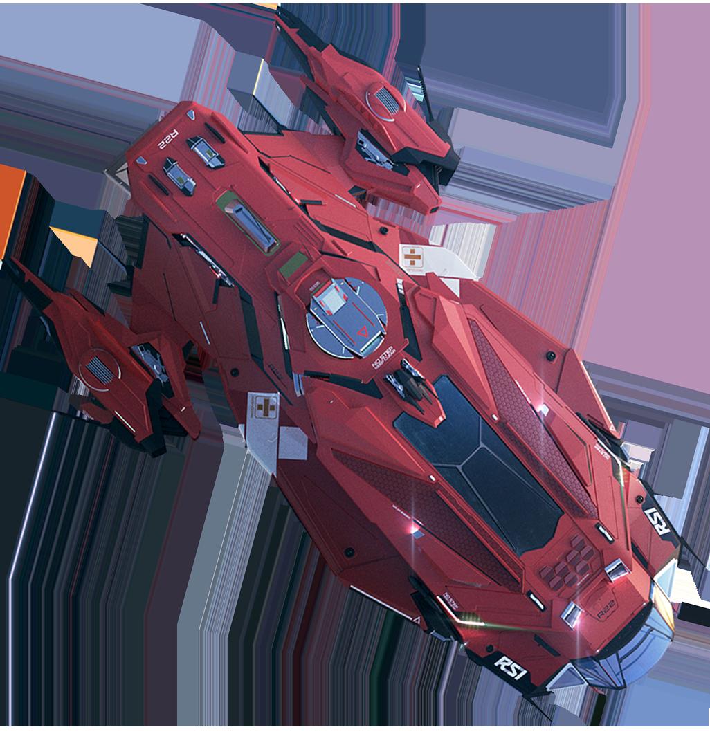 Picture Of Blury Apollo Ship Star Citizen Top Down Game Citizen