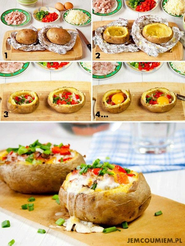 Pomme de terre cuite au four