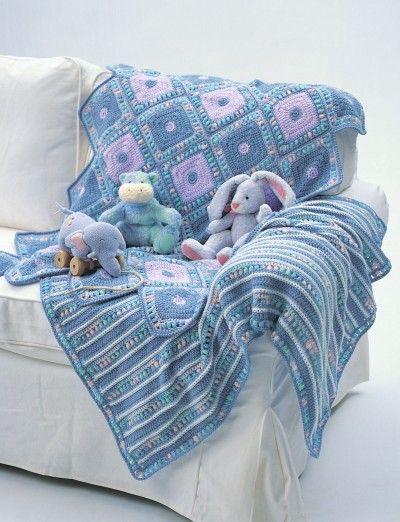 Harlequin Blanket | Yarnspirations | Baby blanket pattern ...