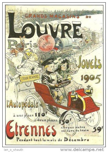 0c0c63afaf0 Poster-manifesto-affiche reproduction - Grands Magasins du Louvre ...