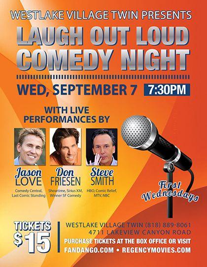 Laugh Out Loud Westlake Village