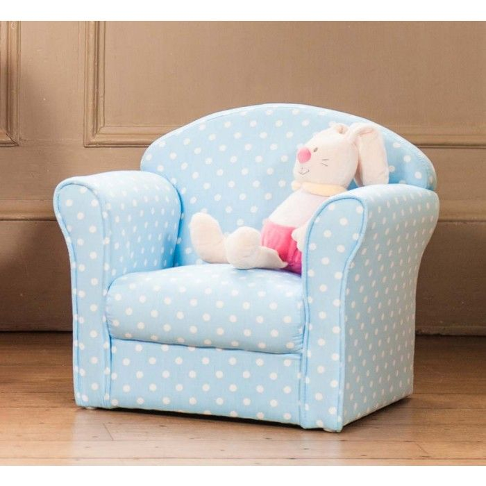 Exceptional Blue Kids Armchair 2