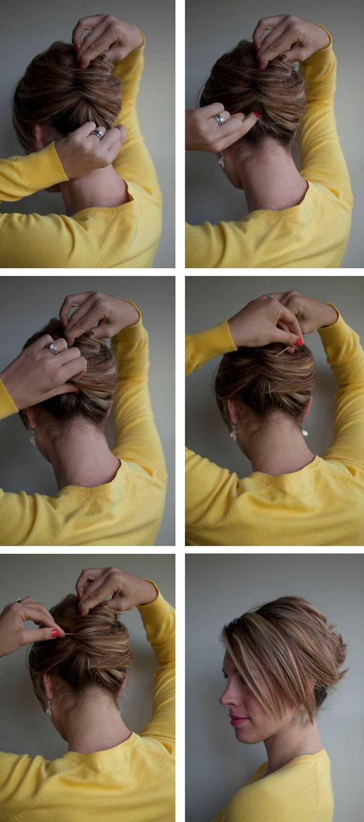 Hairstyle How To Easy French Roll Hair Romance Roll Hairstyle French Roll Hairstyle Hair Romance
