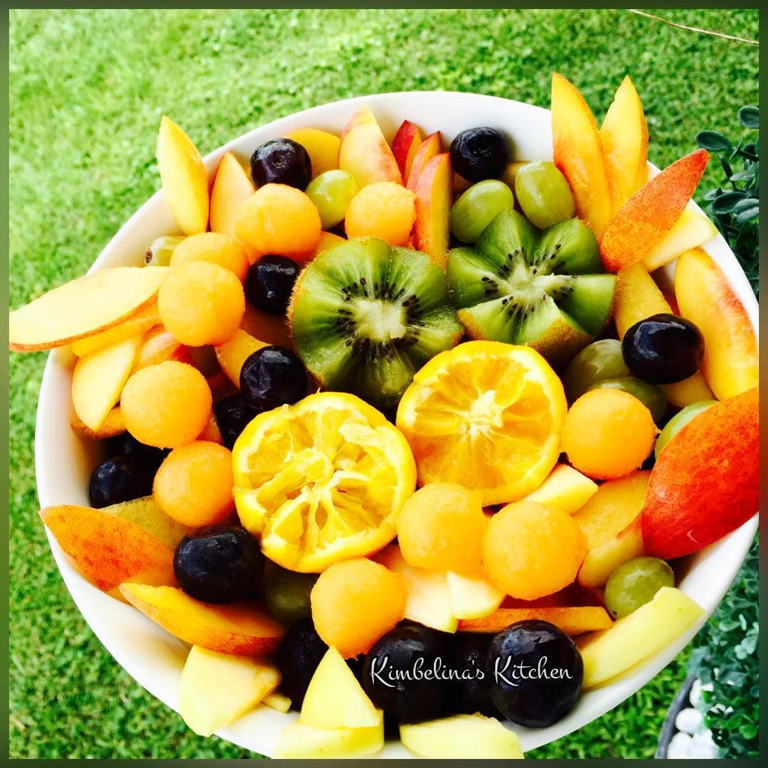 Organic fruit salad anyone sharing casually today feel free to