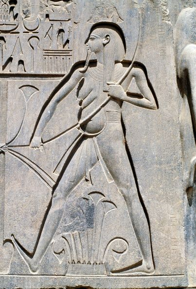 Relief, Temple of Amun