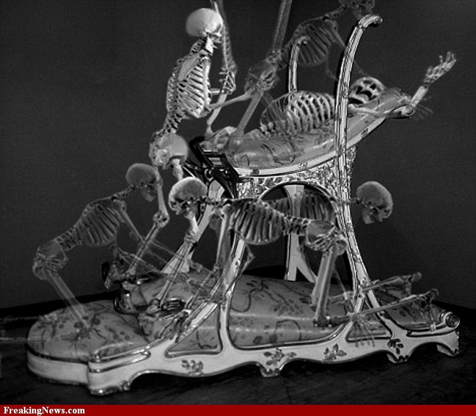 i u0026 39 m not even going to try to guess at this one    correctly categorized as twisted skeleton art