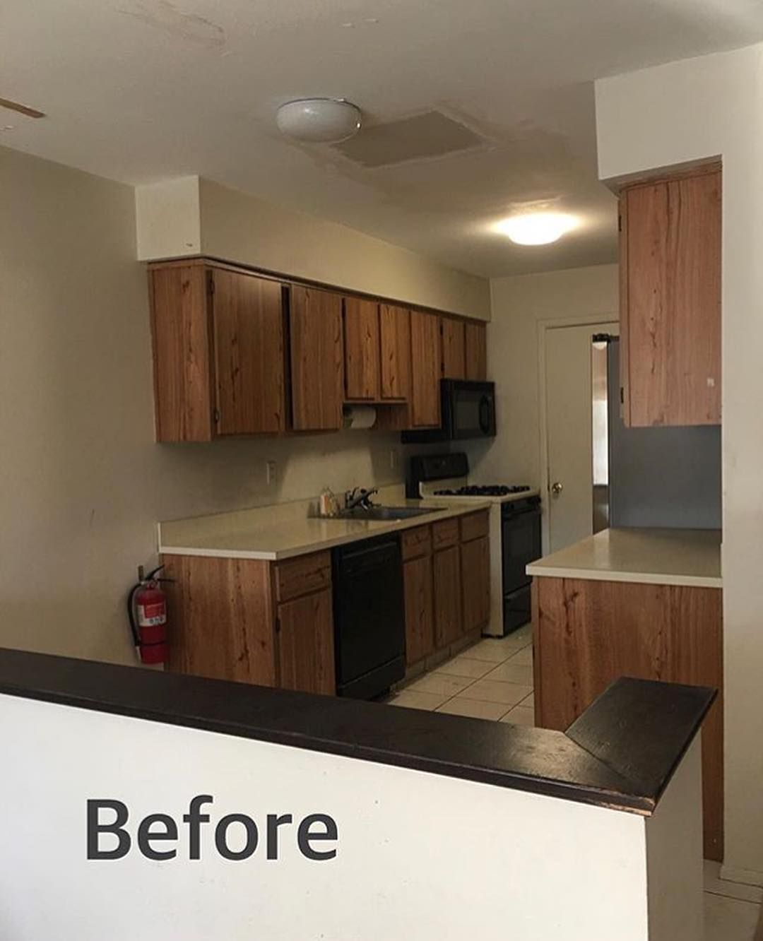 An Incredible Change In This Kitchen Love Everything About It