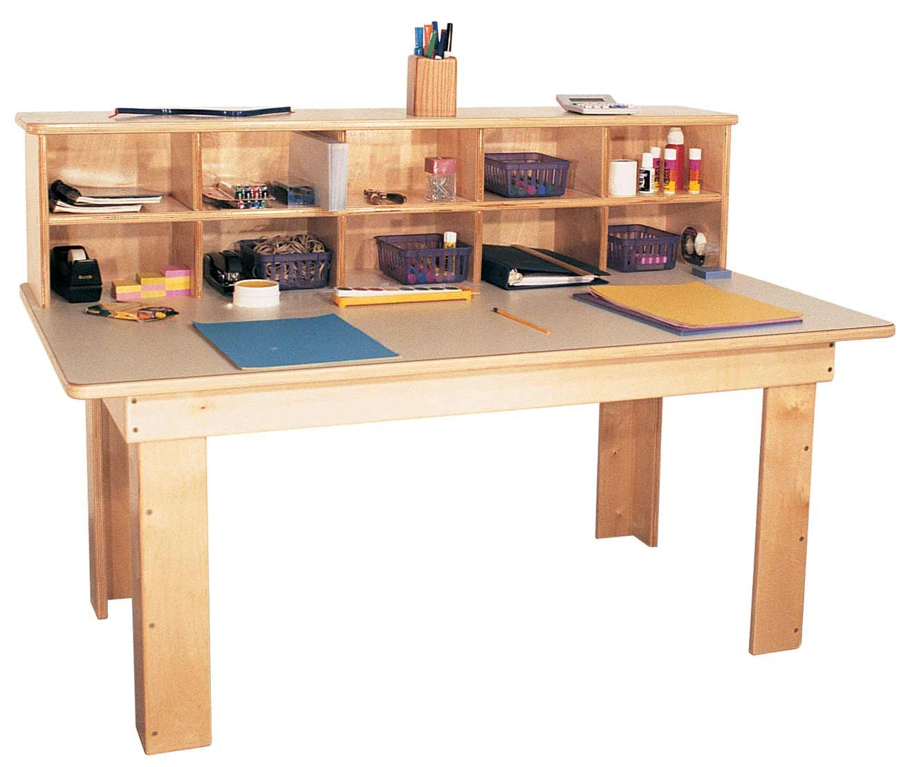 Amazing For A Basic, But Functional Desk, This One Is A Great Choice. Mainstream  Kindergarten Writing Center W Laminate Top Strictly For Kids