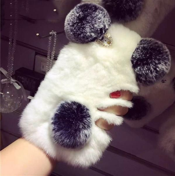 girls furry iphone 7 case