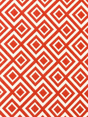 orange upholstery fabric orange white fabric by