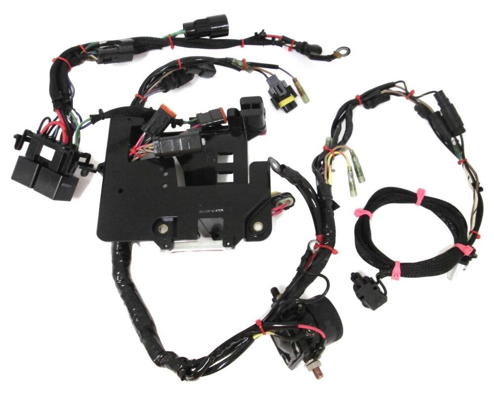 Johnson Evinrude Wiring Harness Engine #586243 #TrimRelays ... on omc fuel tank, omc cobra parts diagram, omc control box, omc remote control, omc inboard outboard wiring diagrams, omc neutral safety switch, omc oil cooler, omc voltage regulator, omc cobra outdrive, omc gauges,