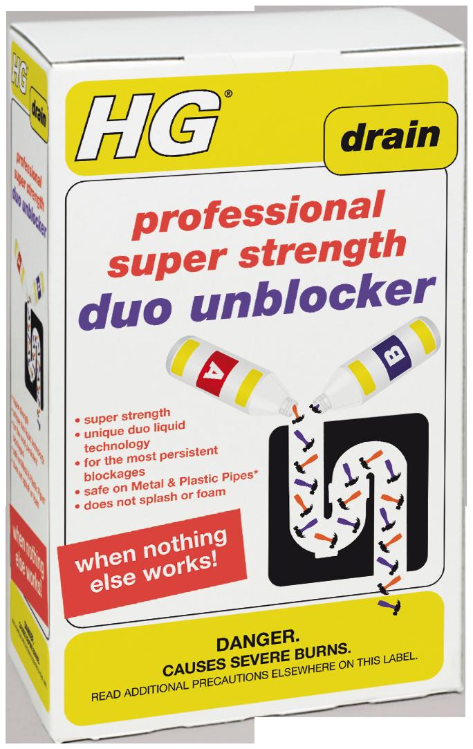 HG Problem Solvers HG Pro Super Strength Duo Unblocker