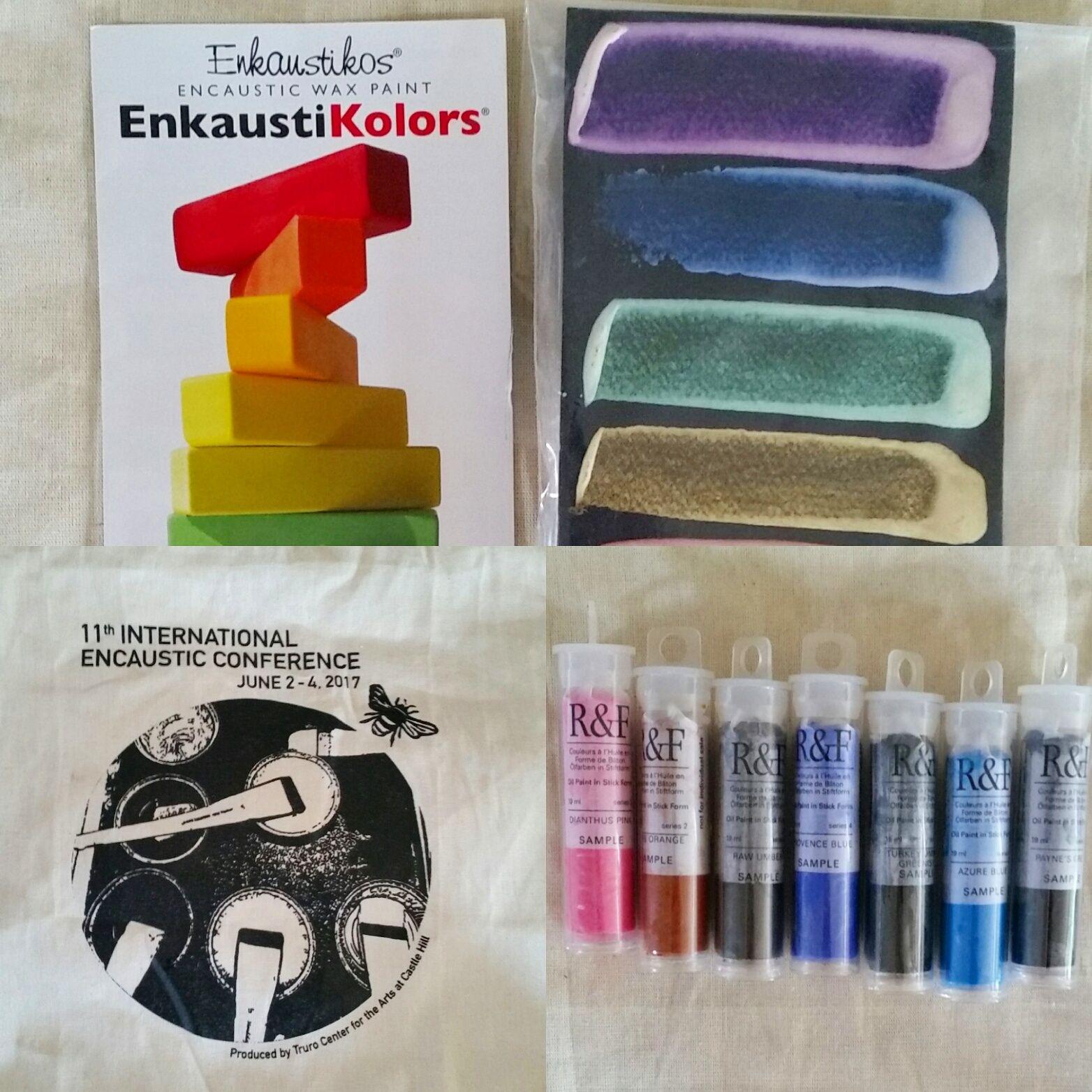 Thank You Shary, Enkaustikos & R&F Paints